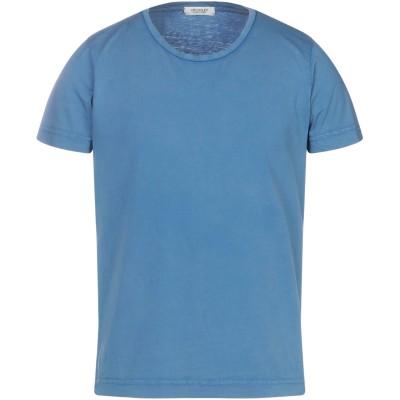 CROSSLEY T シャツ ブルーグレー M コットン 100% T シャツ
