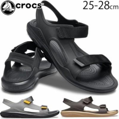 送料無料 メンズ コンフォート サンダル ストラップサンダル クロックス crocs 206526 スウィフトウォーター エクスペディションサンダル
