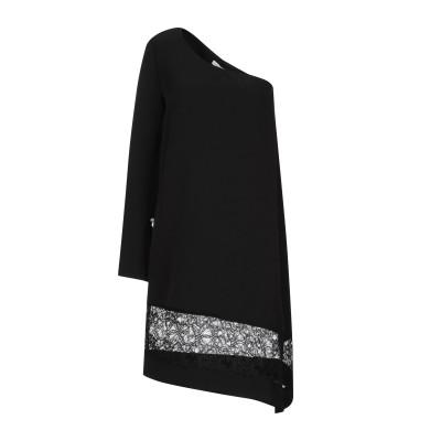 CRISTINAEFFE ミニワンピース&ドレス ブラック 42 ポリエステル 96% / ポリウレタン 4% ミニワンピース&ドレス