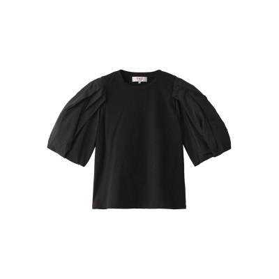 Sea New York シー ニューヨーク Nadja タフタスリーブTシャツ レディース ブラック S