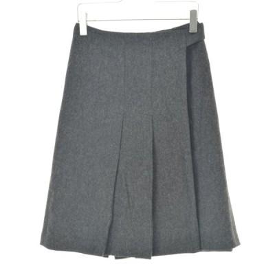 MERVEILLE H. / メルベイユアッシュ ウールラップ スカート