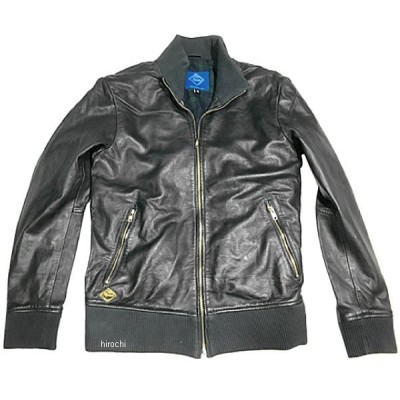 G-BL01 グルーヴ GROOOVE レザージャケット ライダースブルゾン シープレザー ネイビー Mサイズ JP店