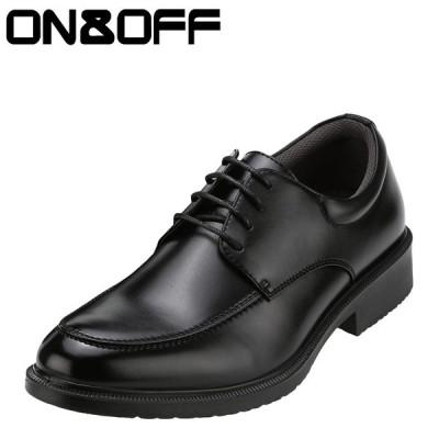 オンアンドオフ ON&OFF 718K メンズ | ビジネスシューズ | 大きいサイズ対応 29.0cm 30.0cm | ブラック