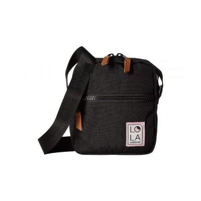LOLA レディース 女性用 バッグ 鞄 バックパック リュック Starlight Crossbody - Black