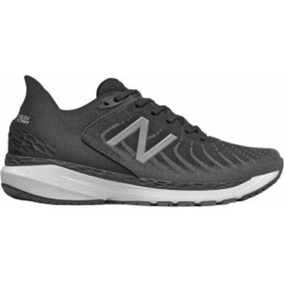 ニューバランス メンズ スニーカー シューズ New Balance Men's 860 V11 Running Shoes Black/Black/White