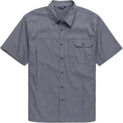 ストイック Stoic メンズ 半袖シャツ トップス Solid Performance Woven Button - Down Shirt Light Gray