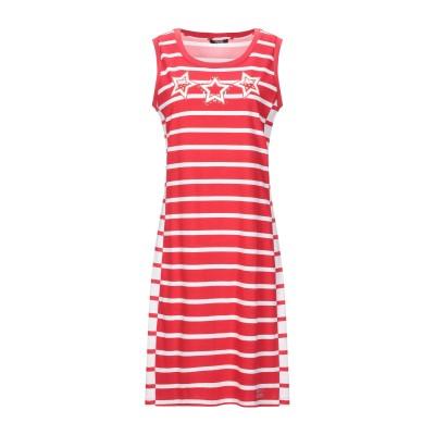 リュー ジョー LIU •JO ミニワンピース&ドレス レッド S コットン 100% / ポリウレタン ミニワンピース&ドレス