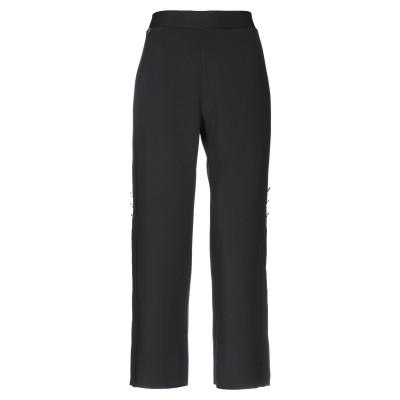 マニラ グレース MANILA GRACE パンツ ブラック 40 ポリエステル 92% / ポリウレタン 8% パンツ