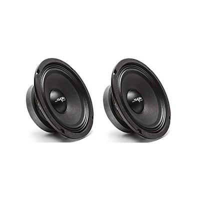 Skar Audio (2) FSX65-4 (2) FSX65-4 300-Watt 6.5-Inch 4 Ohm MID-Range Loudsp