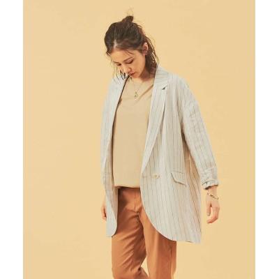 (qualite/カリテ)ビックシルエットシャツジャケット/レディース その他