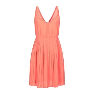 VILA ミニワンピース&ドレス サーモンピンク 34 ポリエステル 100% ミニワンピース&ドレス