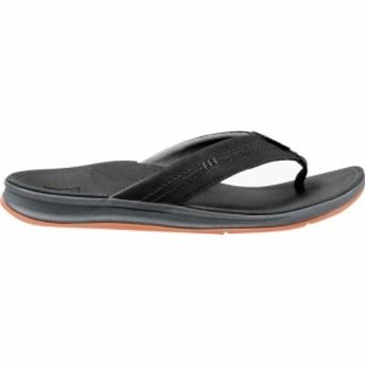 リーフ Reef メンズ ビーチサンダル シューズ・靴 Ortho - Bounce Coast Flip Flop Black