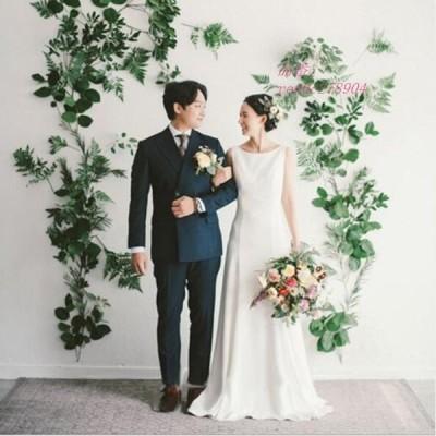 挙式 結婚式 花嫁 おしゃれ ウェティグドレス Aラインドレス 前撮り ロングドレス パーティードレス 大きいサイズ ワンピース 二次会 安い 発表会