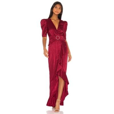 ソング オブ スタイル Song of Style レディース ワンピース マキシ丈 ワンピース・ドレス Edwin Maxi Dress Cranberry Red