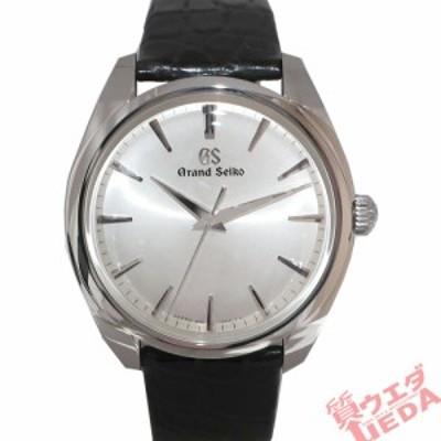 【天白】グランドセイコー 腕時計 エレガンス SBGX331 レザーベルト SS 男性 クオーツ シルバー文字盤 保証書 純正箱