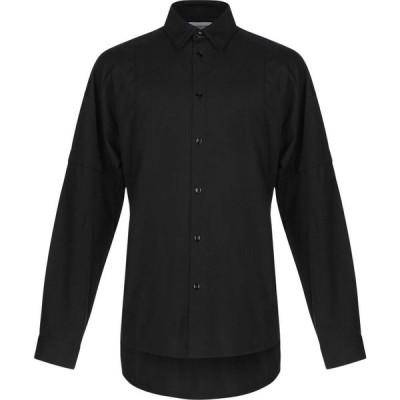 ヘルムート ラング HELMUT LANG メンズ シャツ トップス solid color shirt Black