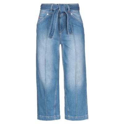 MAX & CO. デニムカプリパンツ ブルー 25 コットン 99% / ポリウレタン 1% デニムカプリパンツ
