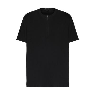 ワイスリー Y-3 T シャツ ブラック S コットン 100% / ポリウレタン T シャツ