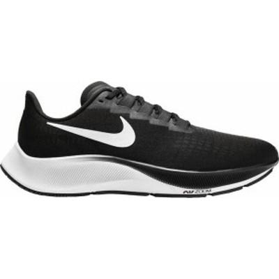ナイキ メンズ スニーカー シューズ Nike Men's Air Zoom Pegasus 37 Running Shoes Black/White