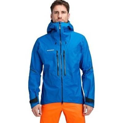 マムート メンズ ジャケット・ブルゾン アウター Nordwand Light HS Hooded Jacket Azurit