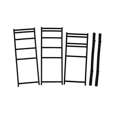 DOD(ディーオーディー) テキー ラキッチンレッグ テキー ラプレートでキッチンテーブルを作るための専用レッグ 3個セット (ブラック)