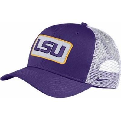 ナイキ メンズ 帽子 アクセサリー Nike Men's LSU Tigers Purple Classic99 Trucker Hat