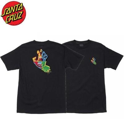 サンタクルーズ SANTA CRUZ 半袖Tシャツ Hand Blocker SS Tee BLACK スクリーミングハンド ブラック