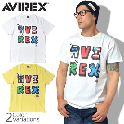 AVIREX(アビレックス) 特価 ロゴTシャツ / BOXER JUNTARO / ボクサージュンタロー【レターパックライト対応】6193419
