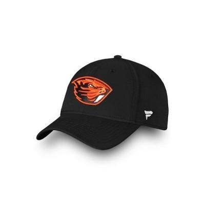 大学 NCAA ファナティクス ブランド Fanatics Branded Oregon State Beavers Black Elevated Core Speed Stretch Fit Hat