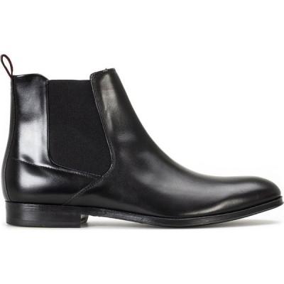ヒューゴ ボス Hugo Boss メンズ ブーツ チェルシーブーツ シューズ・靴 Boheme Leather Chelsea Boots Black