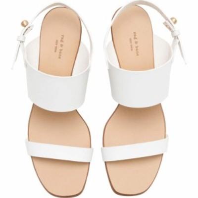 ラグandボーン rag and bone レディース サンダル・ミュール シューズ・靴 City Mid-Heel Sandal Bright White