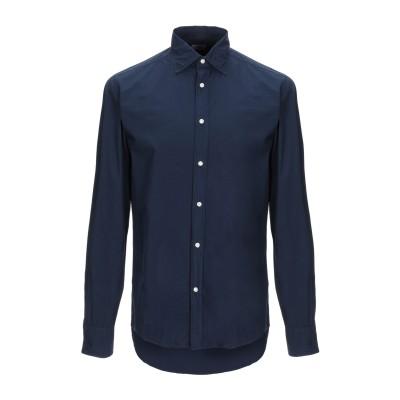 DEPERLU シャツ ダークブルー S コットン 100% シャツ