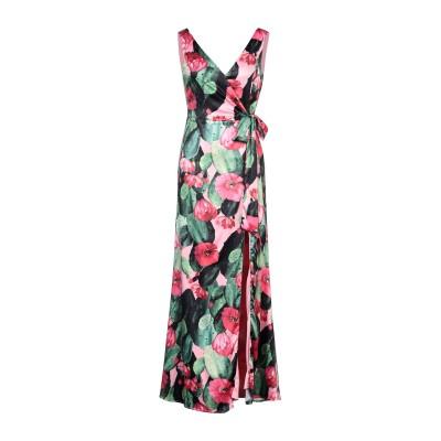 VITTORIA ROMANO ロングワンピース&ドレス グリーン 40 ポリエステル 100% ロングワンピース&ドレス