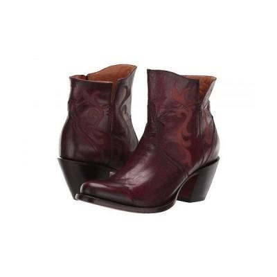 Lucchese ルケーシー レディース 女性用 シューズ 靴 ブーツ アンクルブーツ ショート Alondra - Red