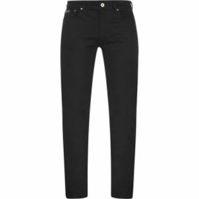 ヴェルサーチ VERSACE JEANS COUTURE メンズ ジーンズ・デニム ボトムス・パンツ versace logo jeans Black