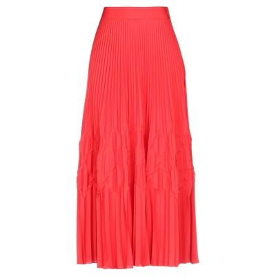 ジバンシィ GIVENCHY 7分丈スカート レッド 36 ポリエステル 100% 7分丈スカート