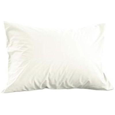 ファブザホーム ソリッド/ホワイト ピローケースM 43x63cm用 合わせ式(ホワイト, 43x63cm用)