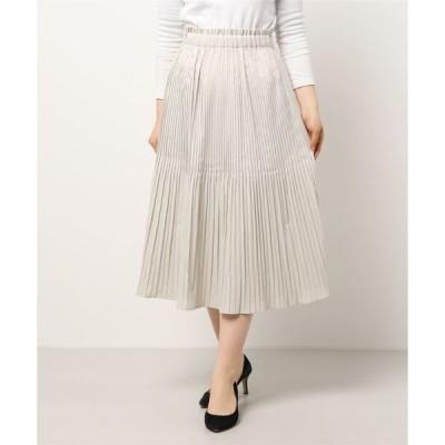 スカート フレアプリーツスカート