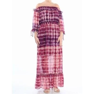 Jessica Simpson ジェシカシンプソン ファッション ドレス Jessica Simpson NEW Pink Size XS Junior Tie Dye Smocked Maxi Dress