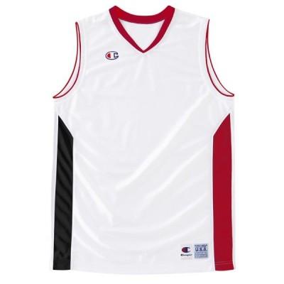 〔チャンピオン〕バスケットウェア/ゲームシャツ☆CBR2203-WR