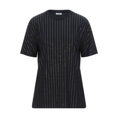 パロッシュ P.A.R.O.S.H. T シャツ ブラック S コットン 100% T シャツ