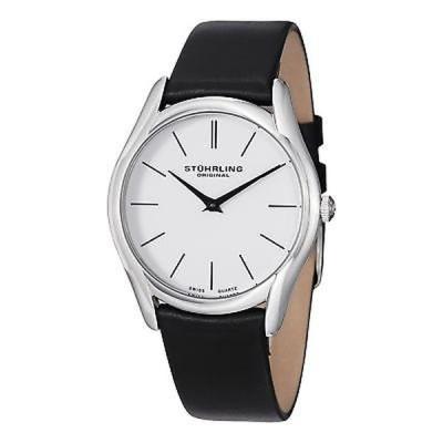 ストゥーリングオリジナル 腕時計 Stuhrling Original Men's Ascot Classic Swiss Quartz Leather Strap Watch