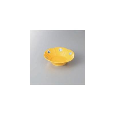 和食器 鉢 黄松竹梅朝顔平向付食器 向付 皿 陶器