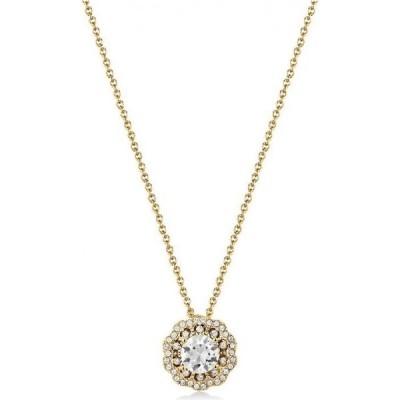 メスティージュ Mestige レディース ネックレス ジュエリー・アクセサリー Golden Petals Necklace With Swarovski Crystals Silver
