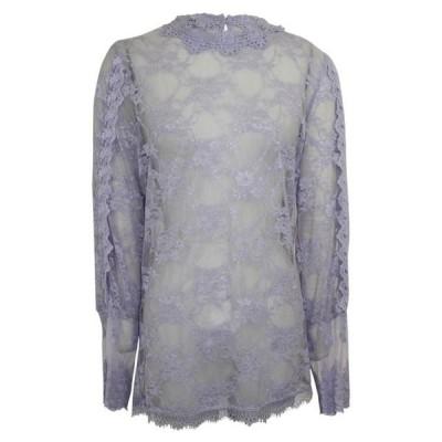 レディース 衣類 トップス Nu womens Long Sleeve Lace Blouse ブラウス&シャツ