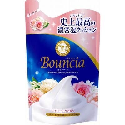 (4個セット)牛乳石鹸 バウンシアボディソープエアリーブーケ詰替 400ml|まとめ買い