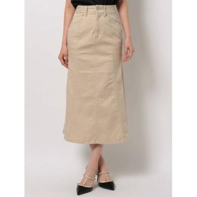 RESEXXY / ロングデニムシフォンプリーツスカート WOMEN スカート > デニムスカート