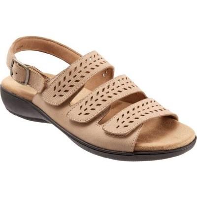 トロッターズ レディース サンダル シューズ Trinity Perforated Slingback Sandal