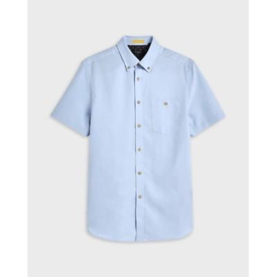 シャツ ブラウス YASAI 半袖 オクスフォードシャツ