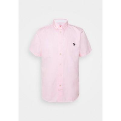 ポールスミス シャツ メンズ トップス MENS TAILORED FIT ZEB BADGE - Shirt - pink
